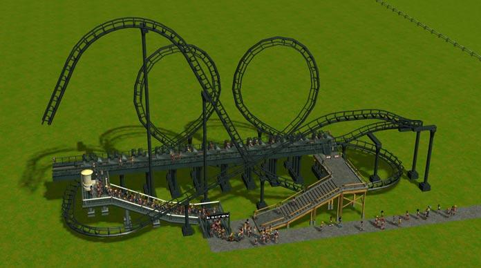 My favorite RollerCoaster Tycoon 3 coasters