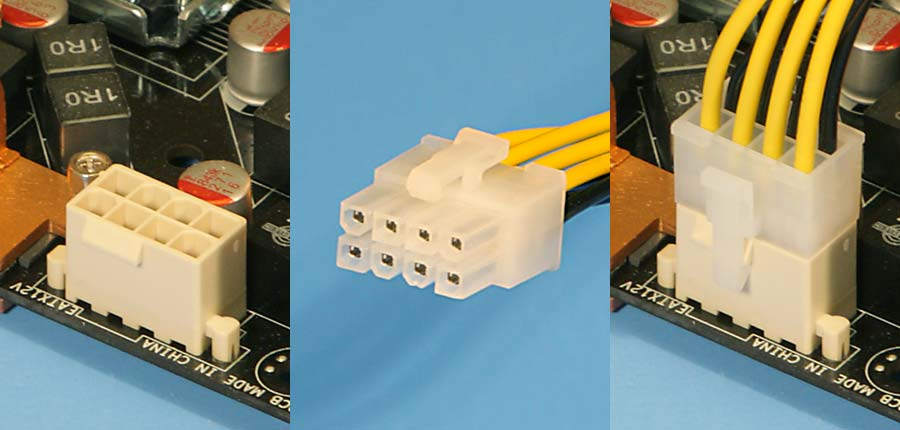 8 Pin EPS +12 Volt Connector