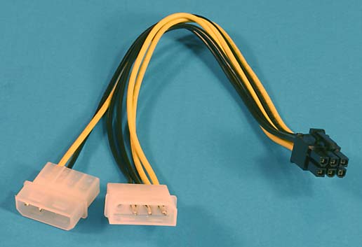 connector to pci express adapter